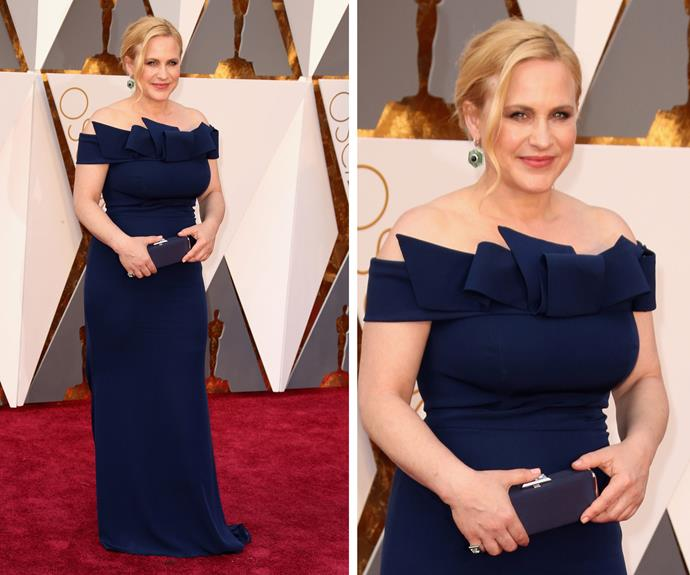 Patricia Arquette was also in attendance.