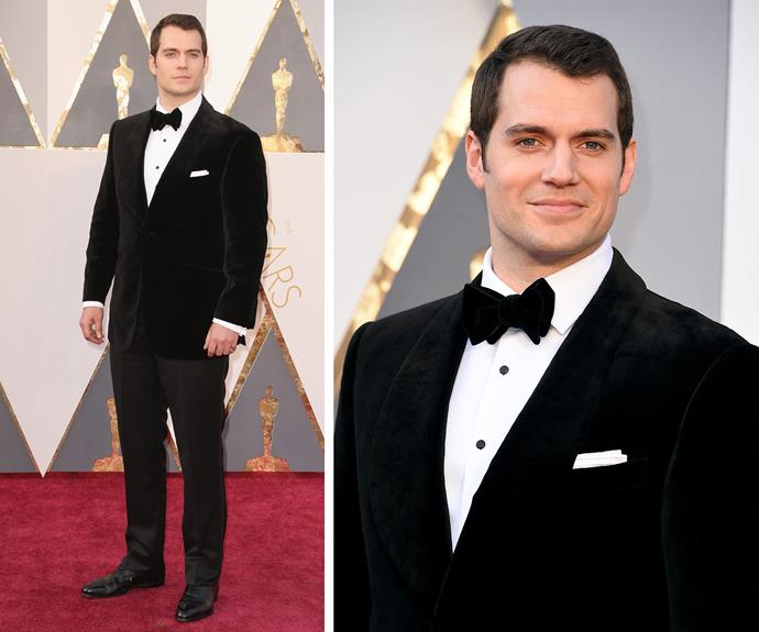 Super sexy! Henry Cavill just can't put a foot wrong.