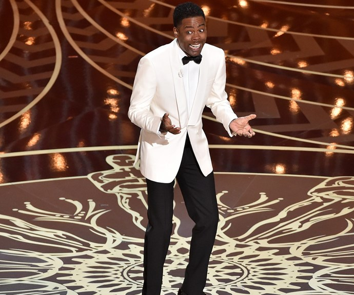 Chris Rock's opening monologue was unapologetic.