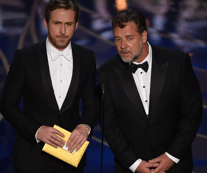 Oh boy! Ryan Gosling AND Russell Crowe...