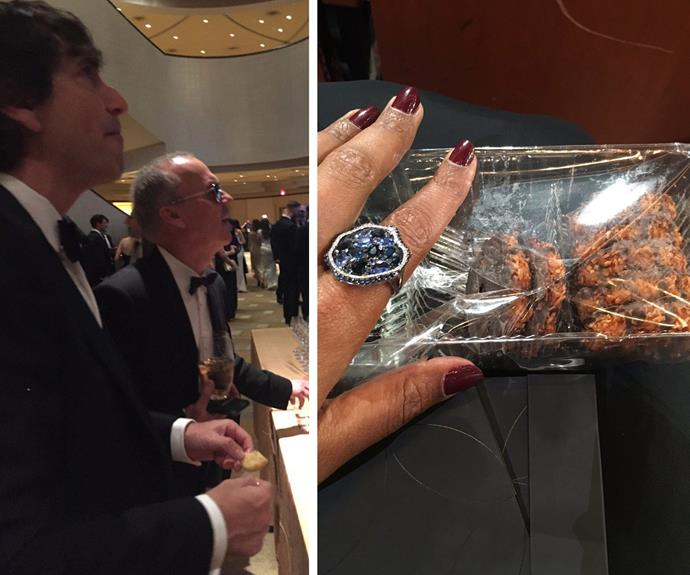 Mindy Kaling was stoked with her cookies! While Michael Keaton was keen to buy some too.