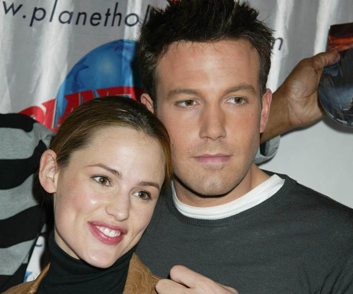 From a happier time! The couple pictured together in 2003.
