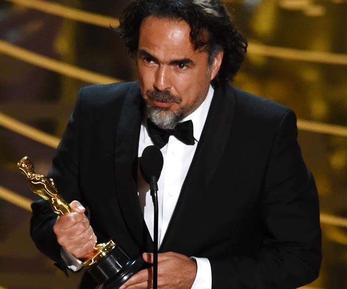 Alejandro G. Inarritu won Best Director for *The Revenant*.