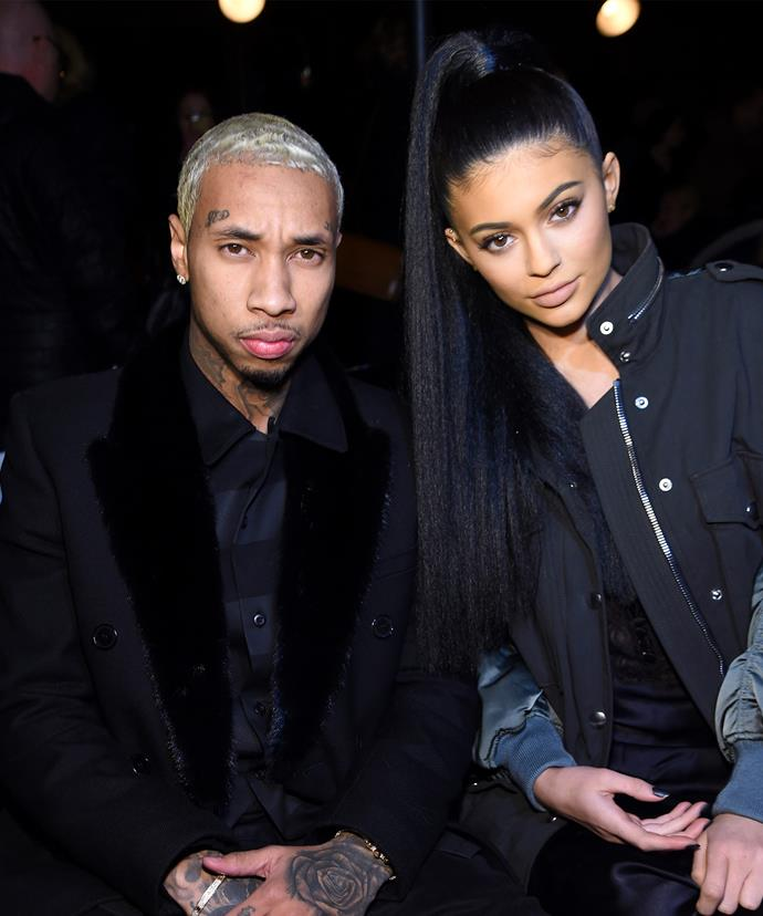 In February Kylie Jenner, pictured with boyfriend Tyga at NYFW, was slammed for cultural appropriation for wearing a Yaki.