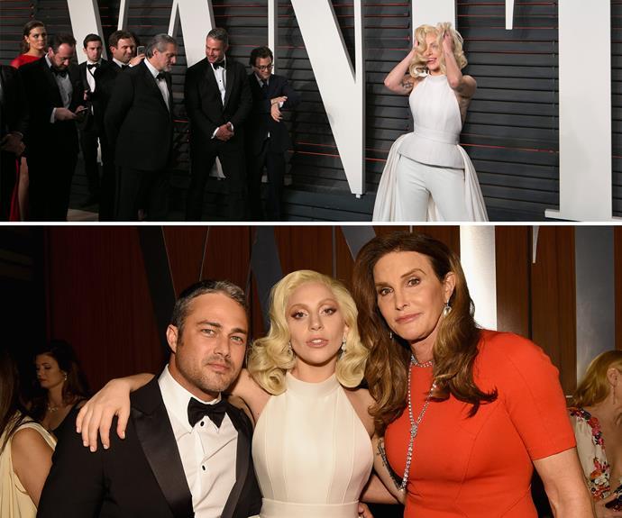 Lady Gaga shows Caitlyn Jenner how divas do.