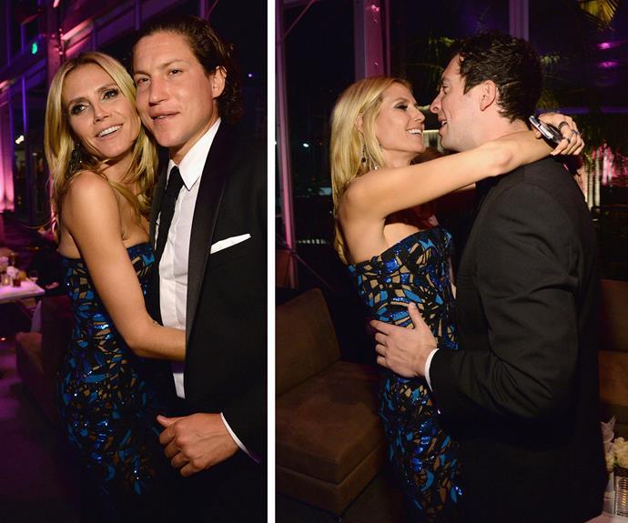 Heidi Klum, 42, can't get enough of her boyfriend Vito Schnabel, 29.