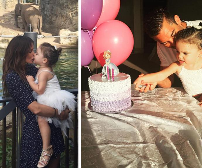 Aleeia's parents made sure their tiny tot had the best birthday ever!