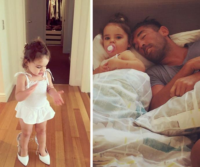 Both Jodi and Braith have taken to social media to share snapshots into life as a single parent.
