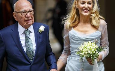 Rupert Murdoch, 84, and Jerry Hall, 59, tie the knot!