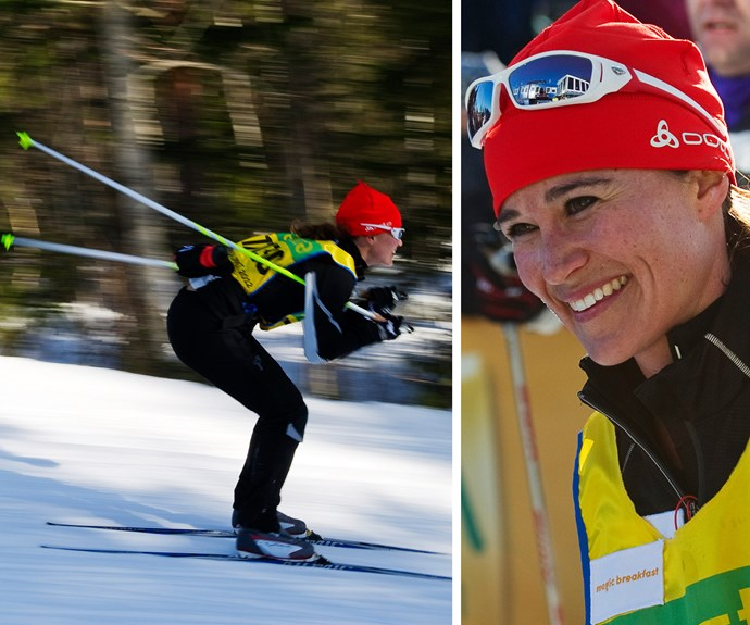 Catherine's athletic sister Pippa Middleton, who competed during the 88th Vasaloppet cross country ski marathon in Mora back in 2012, can give her niece and nephew a few tips.