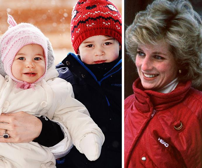 """Family is the most important thing in the world,"" Diana once mused. No doubt she would have adored being a grandmother to George and Charlotte."