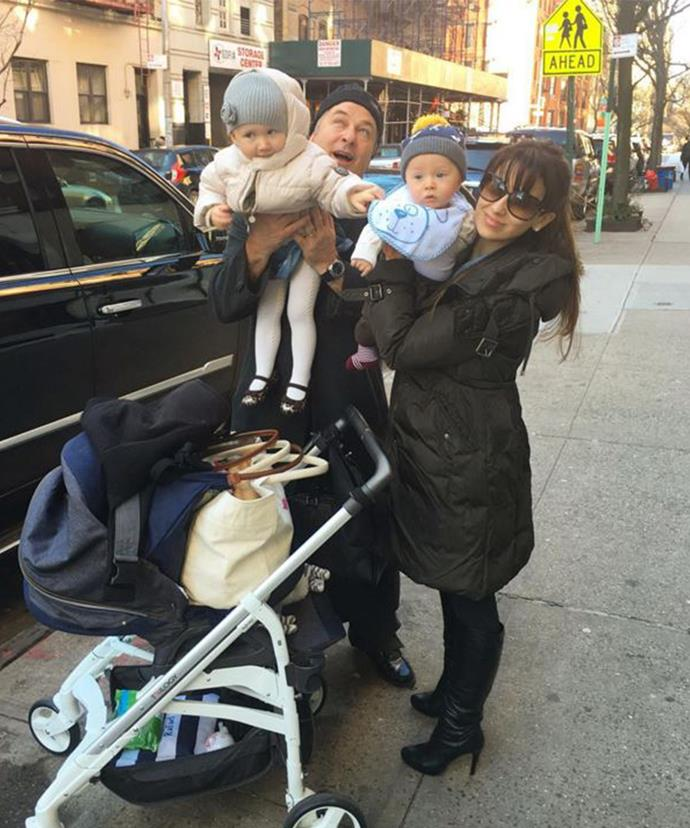 The couple, who married in 2010, are already the proud parents to two-year-old daughter Carmen and eight-month-old son Rafael.