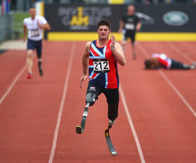 The international sporting competition involves athletes who are wounded and ill military servicemen and women.