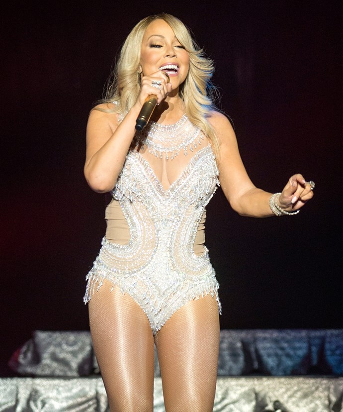 The 45-year-old is about to star in her own TV docu-series aptly named *Mariah's World*.