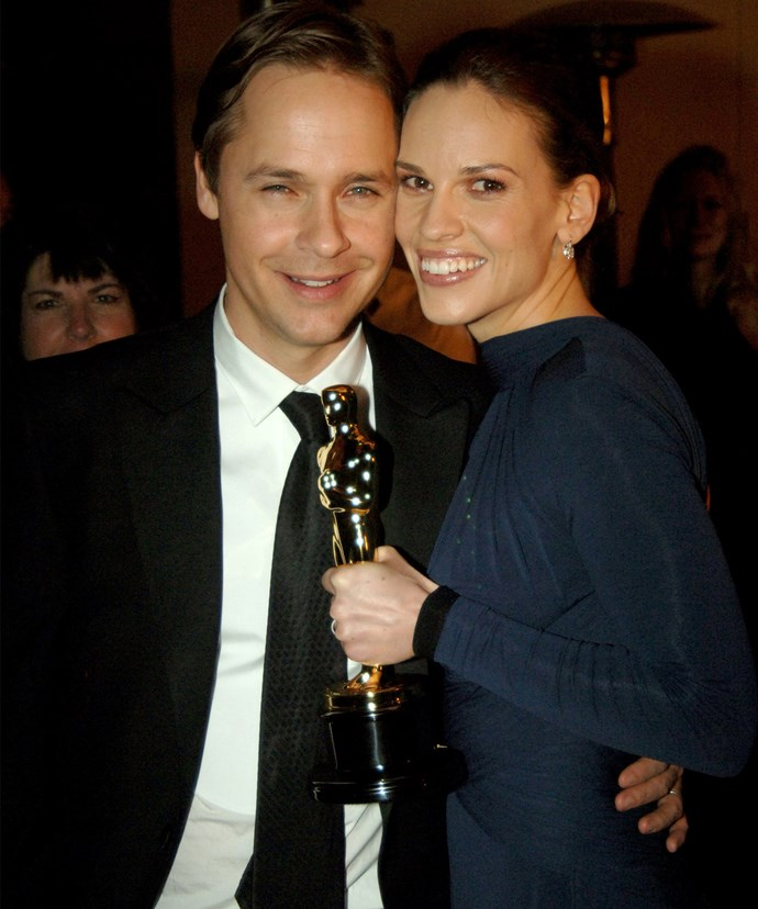 Hilary with her first husband, Chad Lowe.