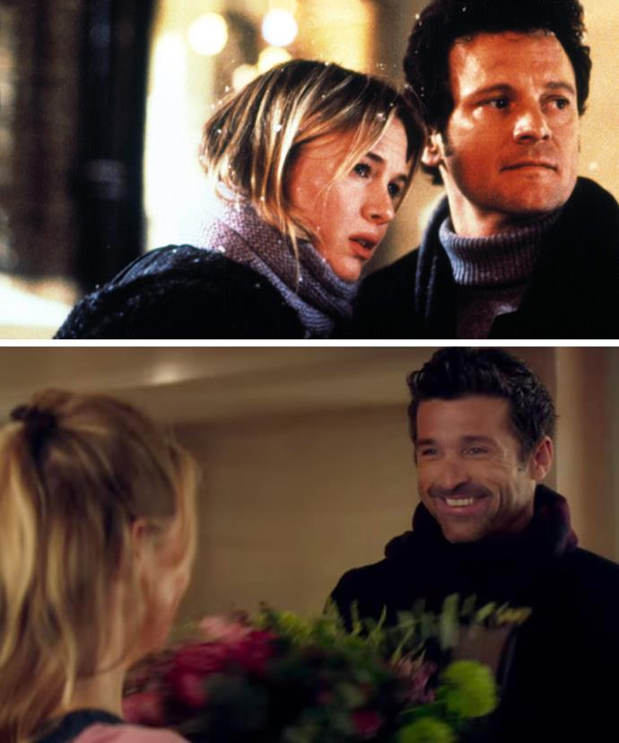 Colin Firth's Mark Darcy will be rivaled by new character, Mark Qwant played by McDreamy himself, Patrick Dempsey.