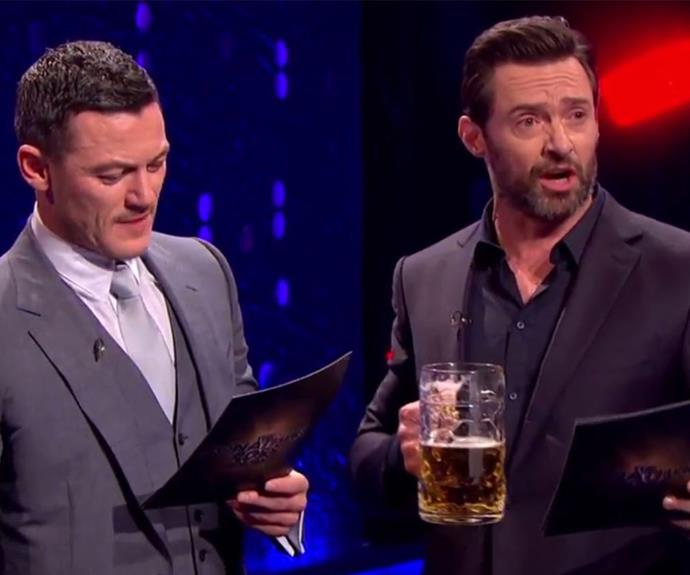 In case you needed another reason to love Hugh Jackman, it turns out the father-of-two can sing with a beer in hand like a champ!
