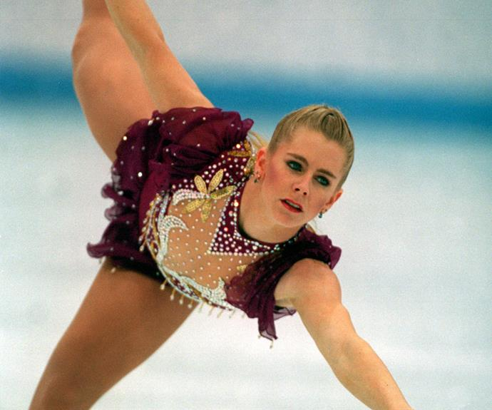 Tonya was known as the first U.S. figure skater to pull off a triple axel jump in competition.