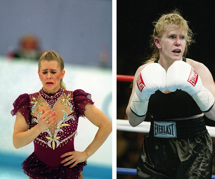 Since the famed career-ending moment, Tonya swapped the rink, for the ring, and began a brief career in women's boxing.