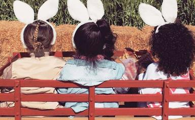 Hop to it! How celebs celebrate Easter