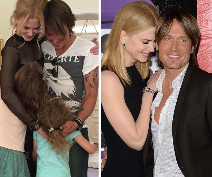 Nicole's true loves, Keith and her girls, have been her support during the difficult two years.