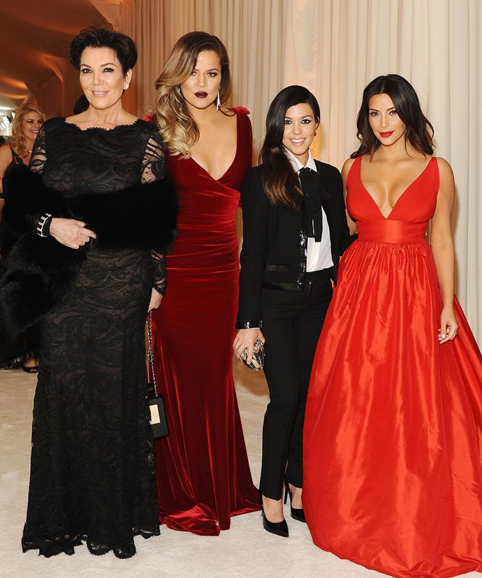 Despite the not-so humble beginning... The Kardashian gals have manged to make it on top.