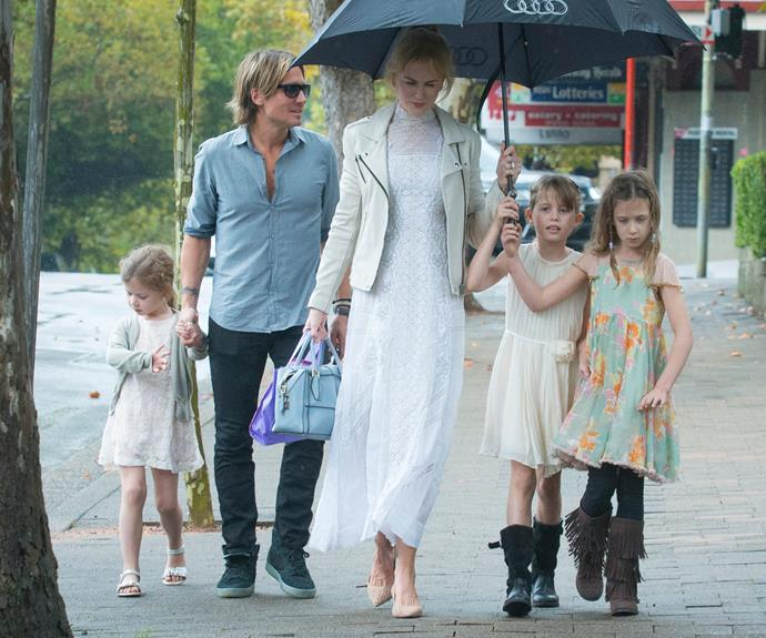 Nicole Kidman and Keith Urban enjoyed some family time with their loved ones in Sydney over the Easter long weekend.