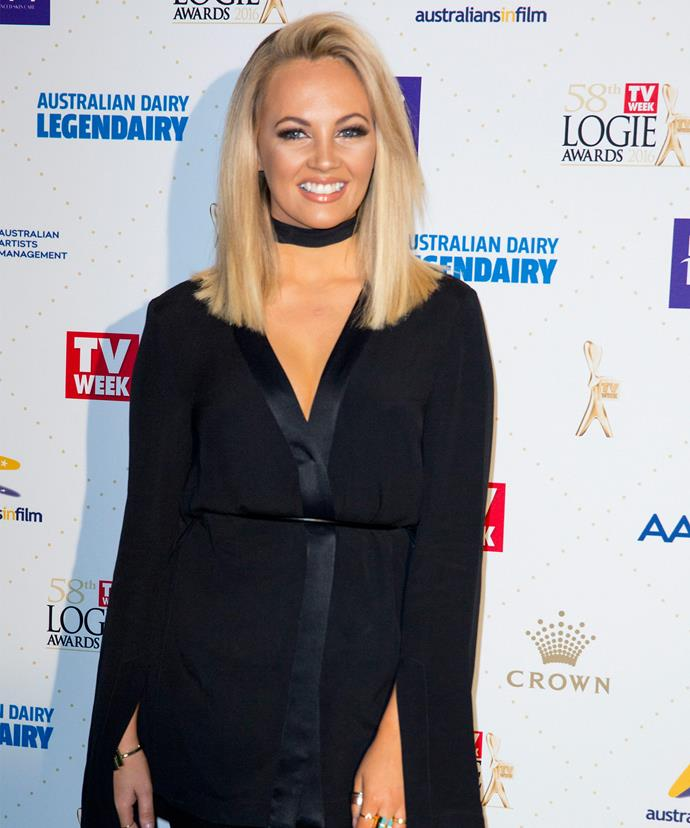Samantha Jade performed at the nomination ceremony.