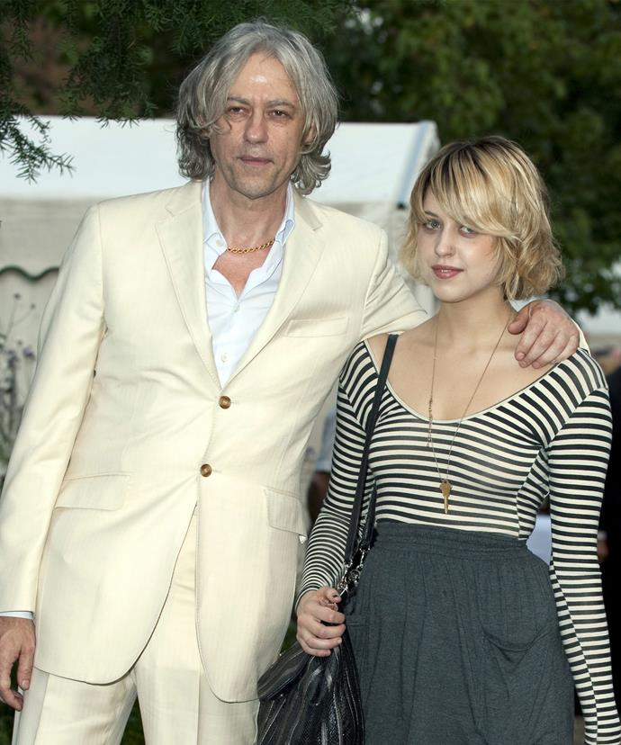 The 25-year-old has also had a constant pillar of strength from Peaches' musician father, Bob Geldof.