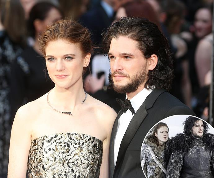 *GOT* fans everywhere rejoice! On Sunday March 3, Kit Harington and Rose Leslie made their first official red carpet debut as a couple at the Olivier Awards in London.