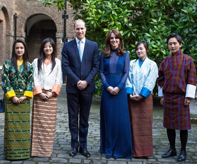 The Duke and Duchess attend a reception at Kensington Palace ahead of their tour to India and Bhutan.