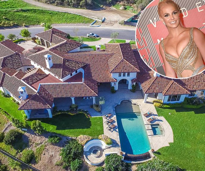 The iconic Britney Spears has just casually popped this Mediterranean-style, 8,456 square-foot home on the market for a cool $11.8 million. We know what you're thinking… Why on earth would you ever want to leave this dream-house!? Well, as it happens, the *Toxic* singer has found a bigger one.