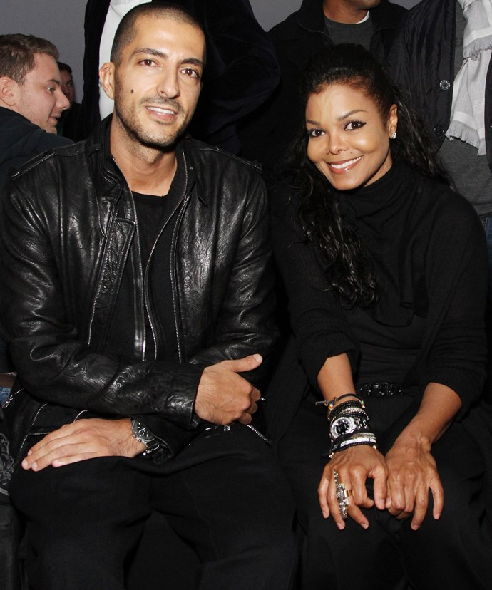 Janet with her husband Wissam.