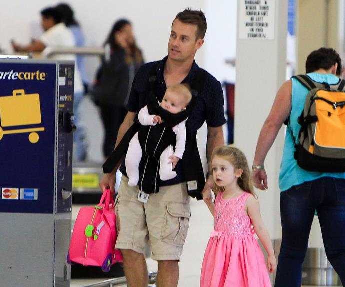 Who has the most adorable family? The top answer is... Grant Denyer!