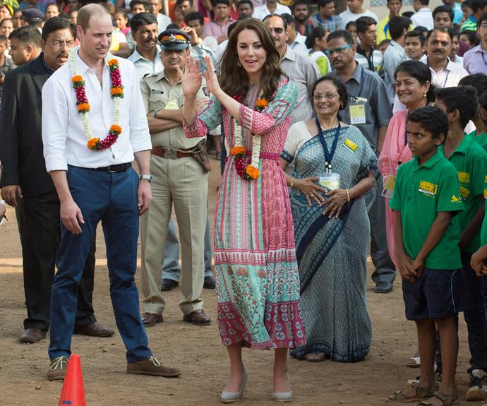 The Duke and Duchess have made a swingin' start to their royal tour of India.