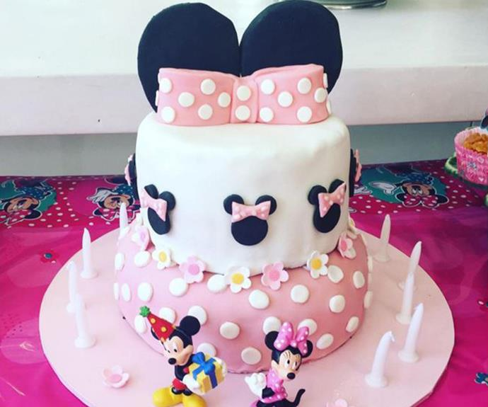 "A labour of love! ""Carrying my daughter for nine months was easier than making this cake."""
