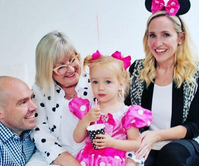 """Birthday girl love (When your mum steals your Minnie Mouse ears)."""