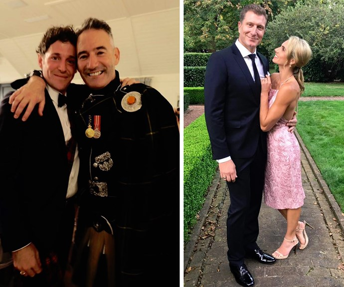 Emma and Lachy's Wiggle bandmates couldn't have been happier for the duo.