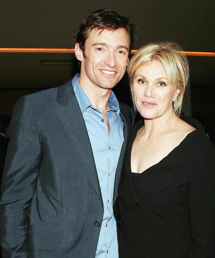 Hugh says meeting Deb is the best thing that's ever happened to him.