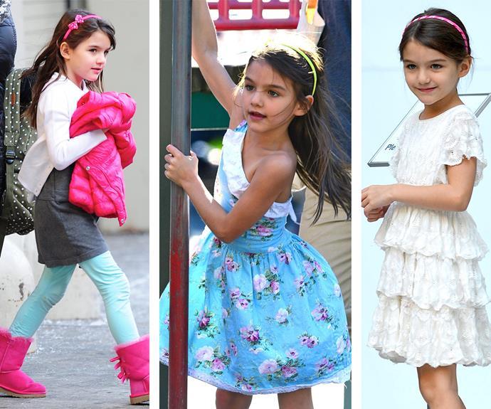 Always dressed to impress, Suri has become a mini-fashion icon.