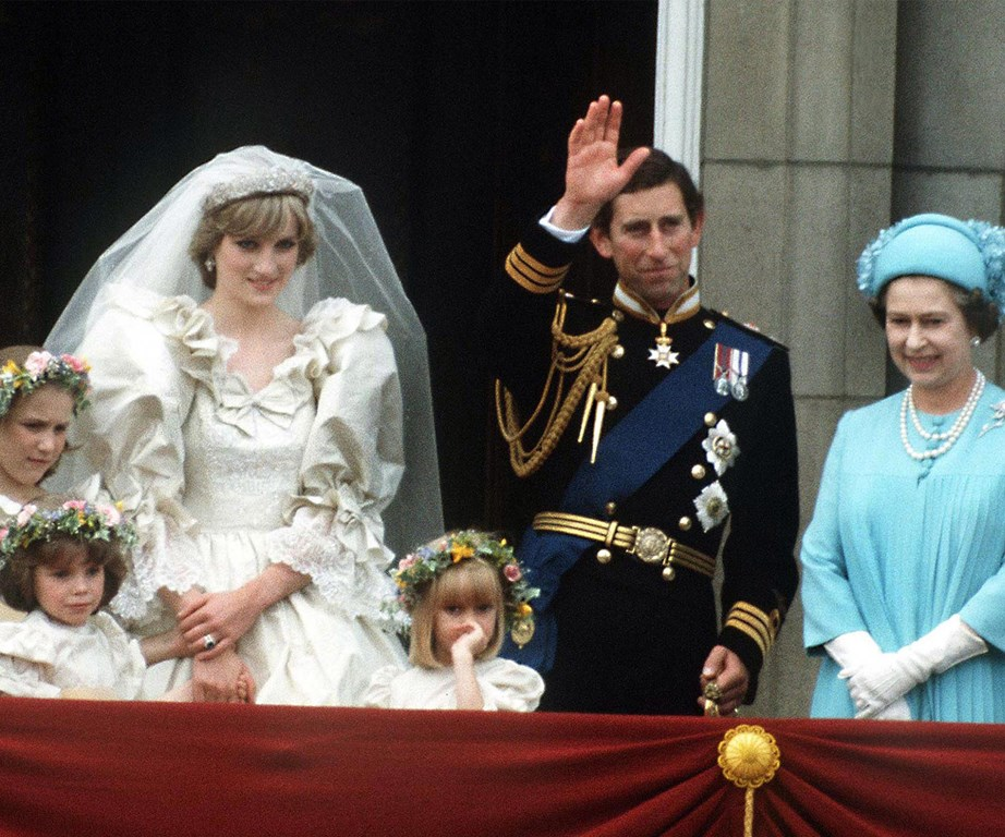 It is said that when her eldest, the Prince of Wales, married Lady Diana Spencer in 1981, Her Majesty was so happy she did a little jig of excitement as she left the reception.