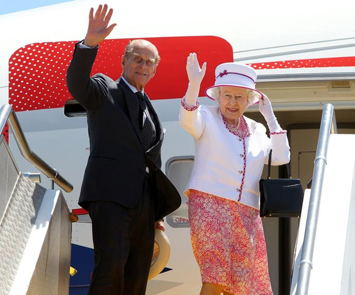 Queen Elizabeth, Duke of Edinburgh, passport