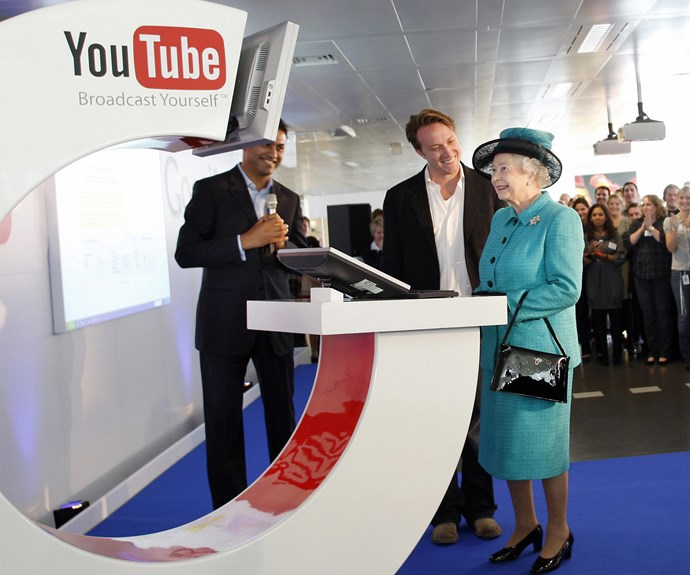 Is the Queen the most tech savvy royal?