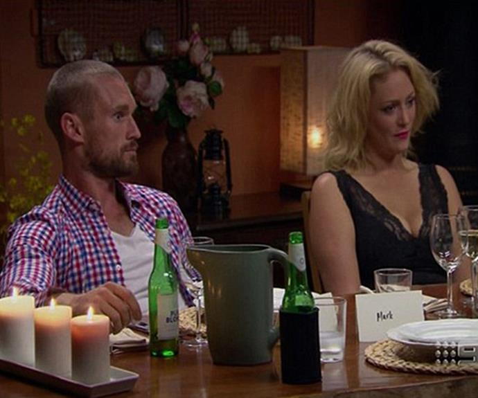 Imagine having to endure a dinner party with your ex-boyfriend... who you broke up with half-an hour ago!