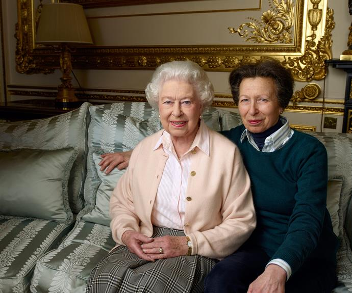 A mother-daughter moment: Queen Elizabeth and Princess Anne show off their close bond. (Photo credit/ 2016 Annie Leibovitz)