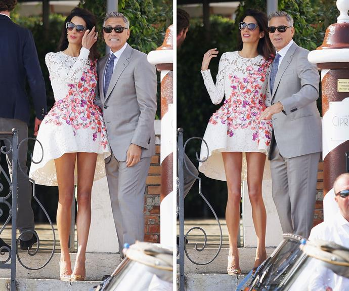 Amal quickly became a style icon in Hollywood.