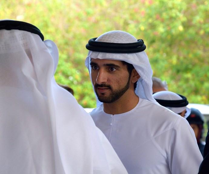 Your very Arabian nights... At 32-years-old, Sheikh Hamdan is the dashing Crown Prince of Dubai.