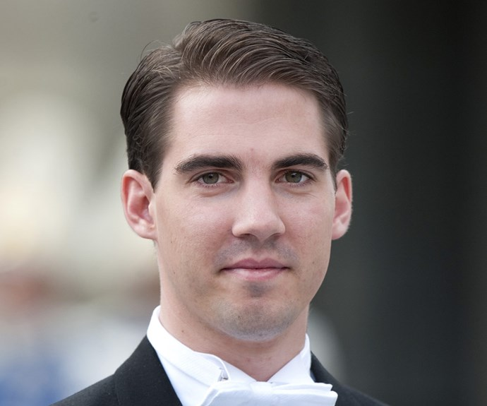 Prince Philippos of Greece and Denmark is the son of King Constantine II of Greece and Queen Anne-Marie.