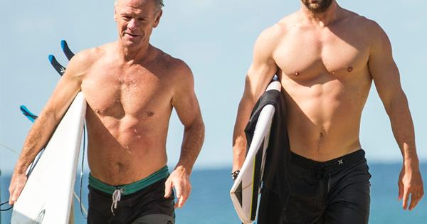 Chris Hemsworth and hi...