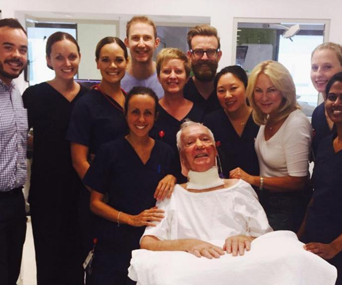 Smiles all round! KAK shared this touching photo on Thursday and revealed the big breakthrough.